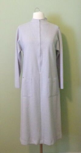 Vintage 70s LIZ ROBERTS Shift Dress Chemise Sz 9-1