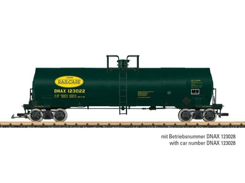 LGB 40872 dnax Railcare tankcar pista G