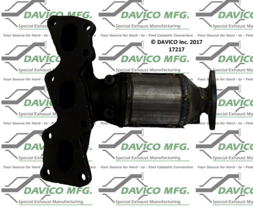 Catalytic Converter-Exact-Fit Front Left Davico Exc CA 17217