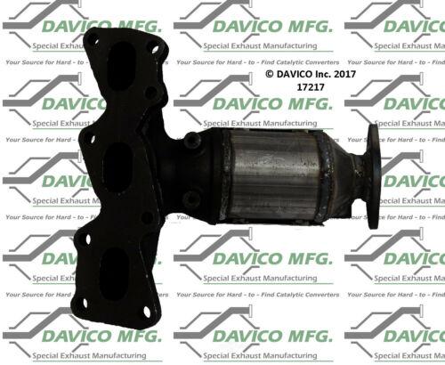 Catalytic Converter-Exact-Fit Front Left Davico Exc CA 17217