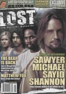 LOST-MAGAZINE-CAST-COVER-COLLECTOR-ISSUE-2A-TRADING-CARD