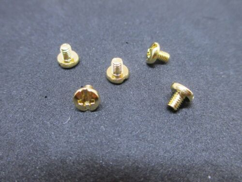 OEM Parts! New Yamaha Brass Saxophone//Sax Key Guard Screws Set of 5