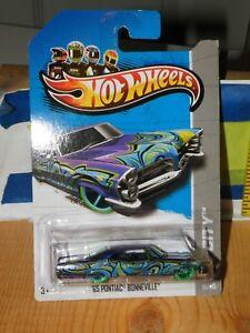 Hot Wheels 65 Pontiac Bonneville 35//250 Green