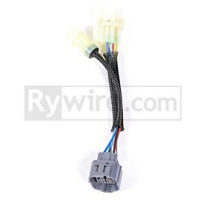 RYWIRE OBD0 - OBD2a 10-pin Distributor Adapter Civic Integra B18 B16 on distributor wiring magma, 1997 mustang gt engine harness, ka24de distributor harness,