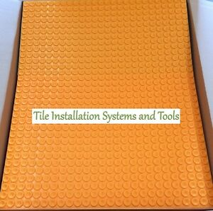 Schluter Ditra Heat 8 6 Sq Ft Sheets Dh5 Ma Heated Floor Membrane 4011832142185 Ebay