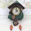 thumbnail 2 - Cuckoo Bird Clock House Wall Hanging Clock Art Home Decor Swing Wall Alarm