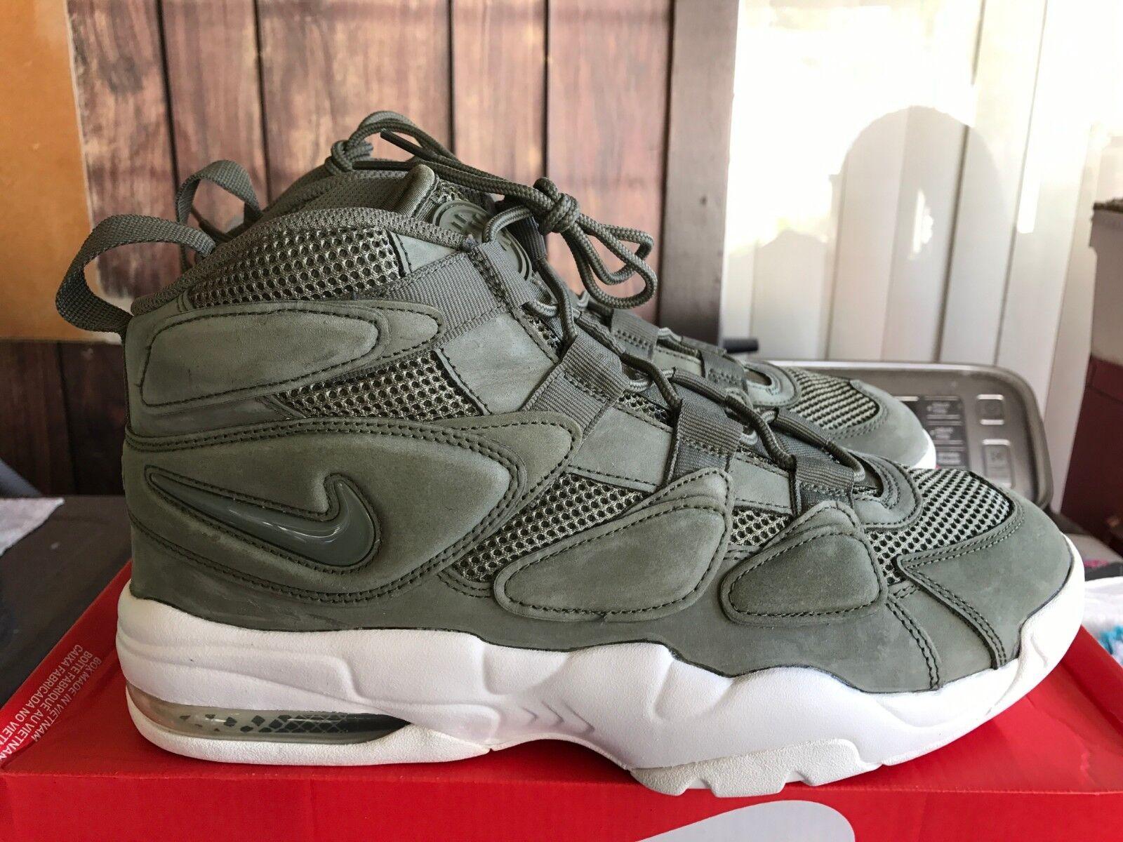 NEW Nike Air Max 2 Uptempo QS Urban Haze Sail Size 13 919831 300 Rare