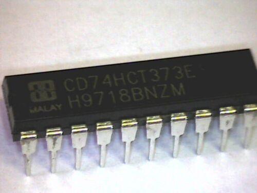 2x CD74HCT373E 74HCT373 D-Latch 8-Bit-Bus Octal D-Type Latch DIP-20