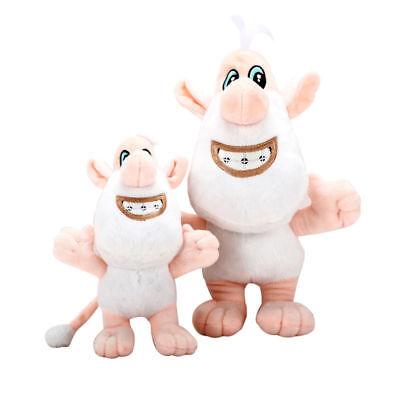 Russian cartoon booba buba white pig cooper soft plush toys stuffed