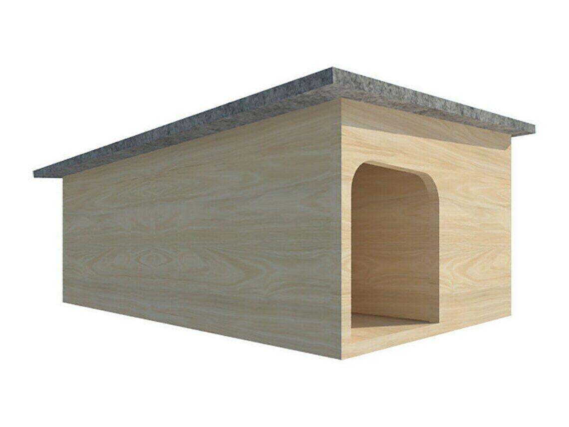 Double hedgehog hibernation house Wildlife Shelter Habitat Nest Box