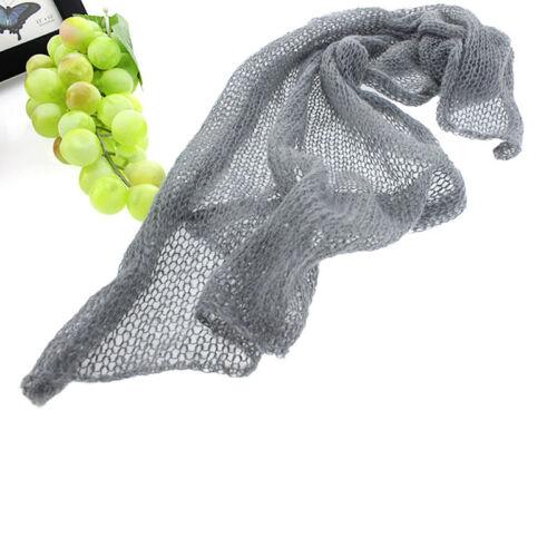 Soft Baby Newborn Infant Crochet Knit Mohair Wrap Cloth Photography Photo Prop