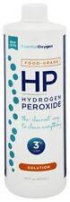 Essential Oxygen - Hydrogen Peroxide Solution 3% Food Grade - 16 oz.