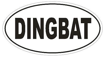 SPOILED Oval Bumper Sticker or Helmet Sticker D1708 Euro Oval Funny Gag Prank