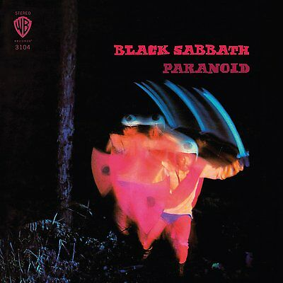 Paranoid (180 Gram Limited Colored Vinyl) by Black Sabbath (LP Record) NEW CXX