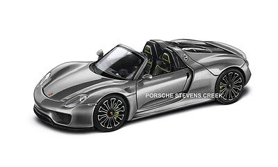 Porsche 918 Spyder 1:43 Diecast Model 1:43 Scale Model Car Gray Acid Green