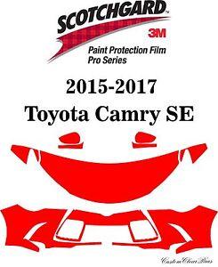 3M Scotchgard Paint Protection Film Pro Series Kit 2015 2016 2017 Toyota Camry