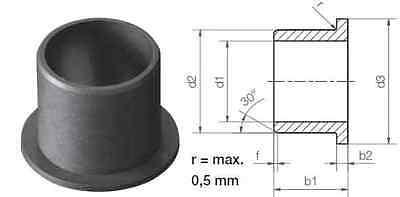 wartungsfreies Gleitlager Kugelbuchse d150 Wähle d121 metrisch 5 Stk Form F