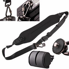 black Camera Quick Rapid Shoulder Neck Strap Belt fr Nikon D7000 D5200 D3100 D90