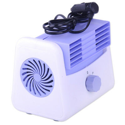 12V Car Air Conditioning Cooling Fan 2Speed Adjustable Silent Blower Cage Cooler