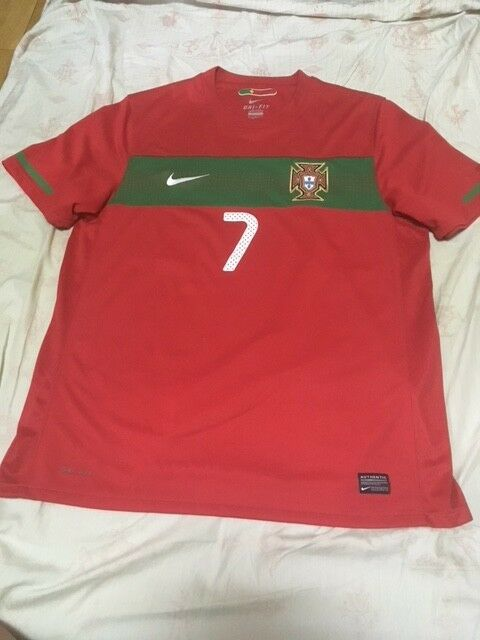 615247022 100% Official Authentic Cristiano Ronaldo Portugal 2010 World Cup Jersey  Shirt