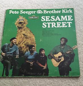Pete Seeger & Brother Kirk Sesame Street LP Vinyl Record 1974 Vintage