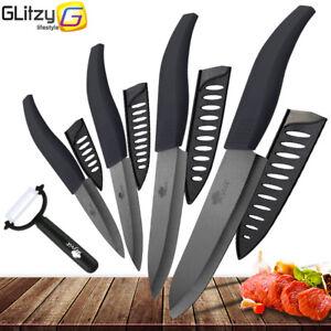 Ceramic Knife 3 4 5 6 Inch Black Blade Peeler Slicer Kitchen Chef