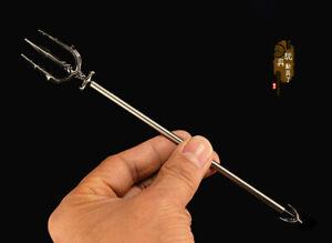 NEW Miniature Weapon Weapon Model Aquaman  Stargate Atlantis Trident Soldier Toy