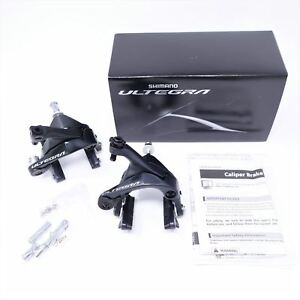 Shimano Ultegra BR-R8000 Dual-Pivot Front /& Rear Caliper Brake Set for Road Bike