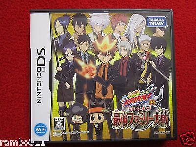 Nintendo DS Katekyoo Hitman Reborn DS Ore Ga Bosu! Saikyou Family Taisen Katekyo