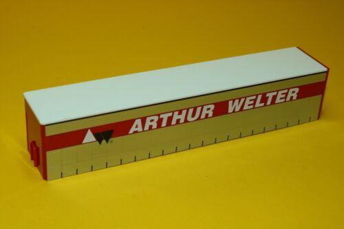 """/""""Arthur Welter/"""" Herpa Gardinenplanen-Aufbau für Sattelauflieger"""