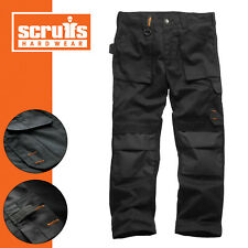 "Scruffs 28-40"" S/R/L Black Worker Trouser 2019 Style Lightweight Work Trouser"