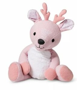 Pink plush deer reindeer cloud island baby girl easter gift image is loading pink plush deer reindeer cloud island baby girl negle Choice Image