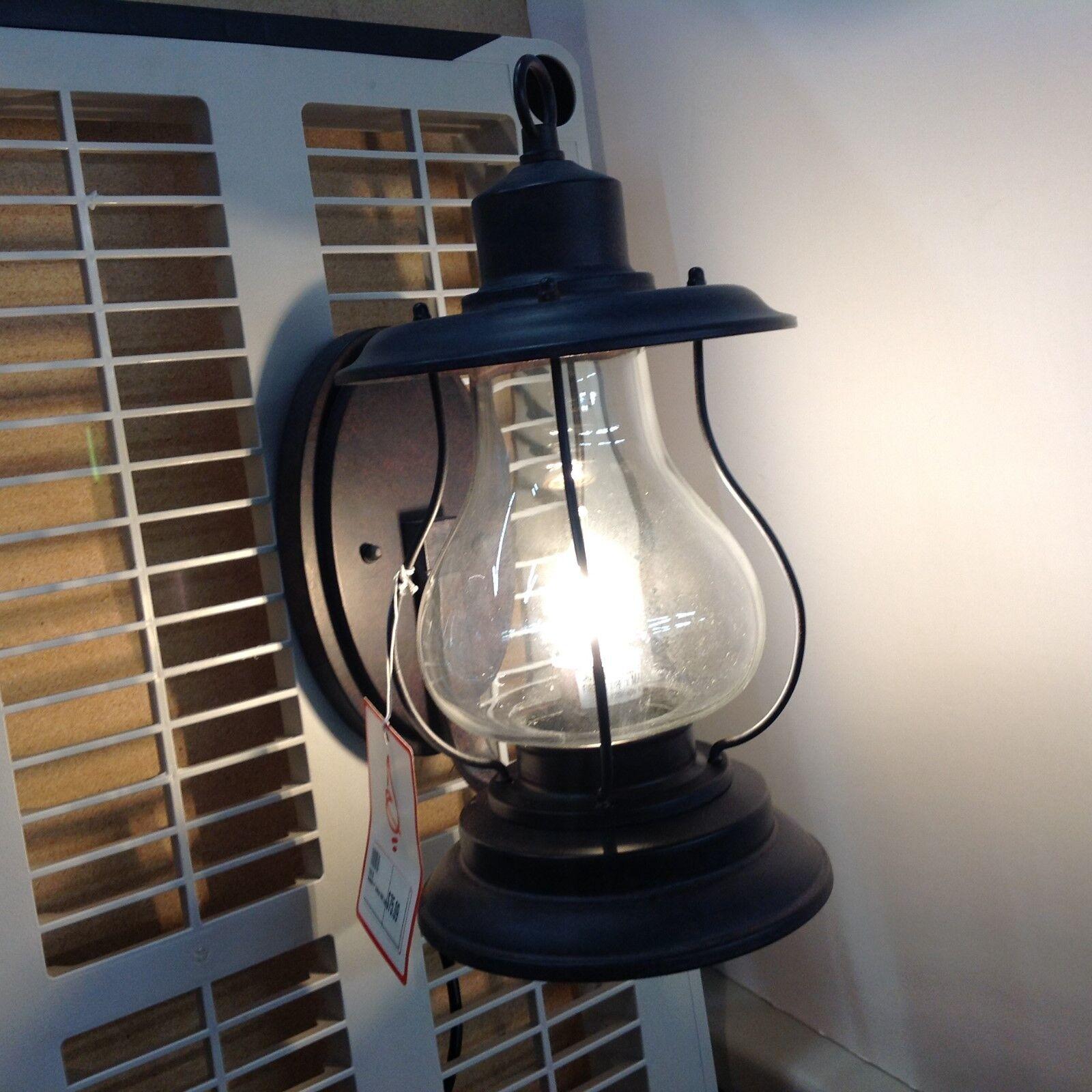 Vaxcel Iluminación-T0216-Dockside - 8  Uno Luz Exterior Candelabro de Parojo