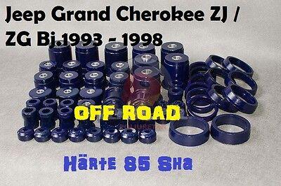 Jeep Grand Cherokee ZJ / ZG Bj.1993 - 1998 Off Road  Set Polyurethan Härte 85 Sh