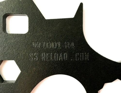 RCBS others Universal Reloading Die Wrench 8-in-1 fits Dillon Lee Hornady