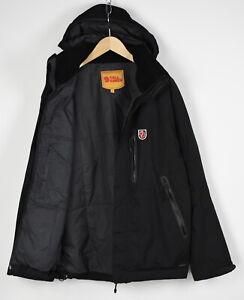 FJALLRAVEN HYDRATIC Men's LARGE Waterproof Laminated Zips Hiking Jacket 29488_JS