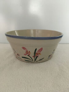 AAA Imports Decoware Fine Pottery Planter Bowl Floral