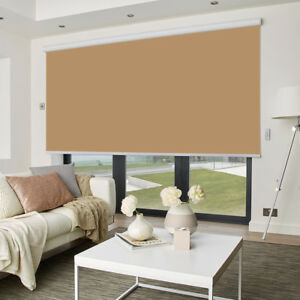 MOTORISED-Made-to-measure-BLACKOUT-ROLLER-Blind-up-to-240cm-width