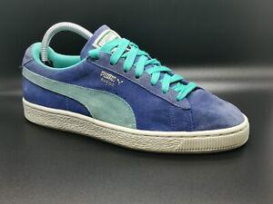 Puma Suede Classic Blue Trainers - UK