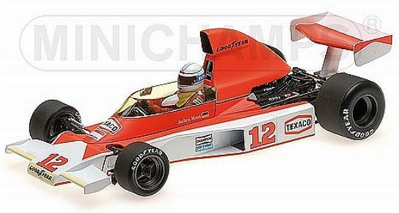 McLaren M23 GP South Africa 1976 Jochen Mass 1 18 MINICHAMPS 530761832