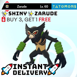 6IV-SHINY-ZARUDE-MYTHICAL-pokemon-sword-and-shield-Instant-Delivery
