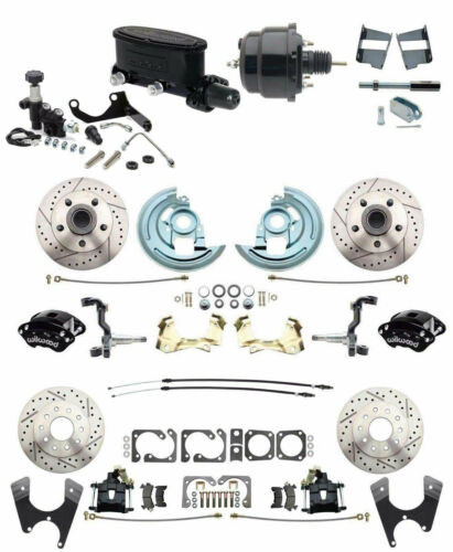 Chevelle Four Wheel Disc Brake Conversion Wilwood Package for 1964-72 A Body