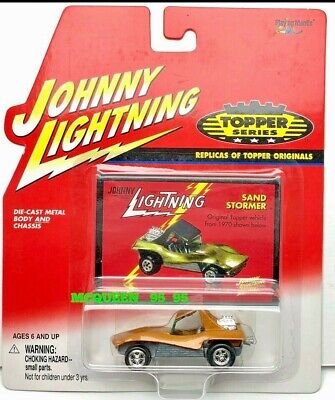 JOHNNY LIGHTNING TOPPER SERIES REPLICAS TOPPER ORIGINALS SAND STORMER BLUE