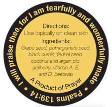 1000 Custom Printed 2 Round Product Labels Black Ink On Gold Laminated Roll