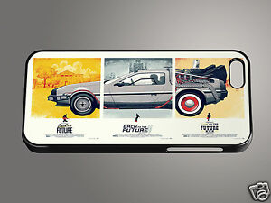 906f6d6df9f09d Back To The Future Trilogy Delorean Retro Quirky iPhone Cover Phone ...