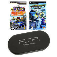 PSP STARTER 2 Game Bundle with UMD Case Holder - Limited Offer!