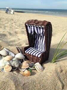 kl strandkorb 20cm deko set sylter muscheln sand. Black Bedroom Furniture Sets. Home Design Ideas