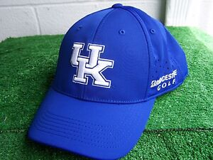 Bridgestone Golf UK Kentucky Wildcats Fitted One Fit Perforated Golf ... 95bdcc7f6153