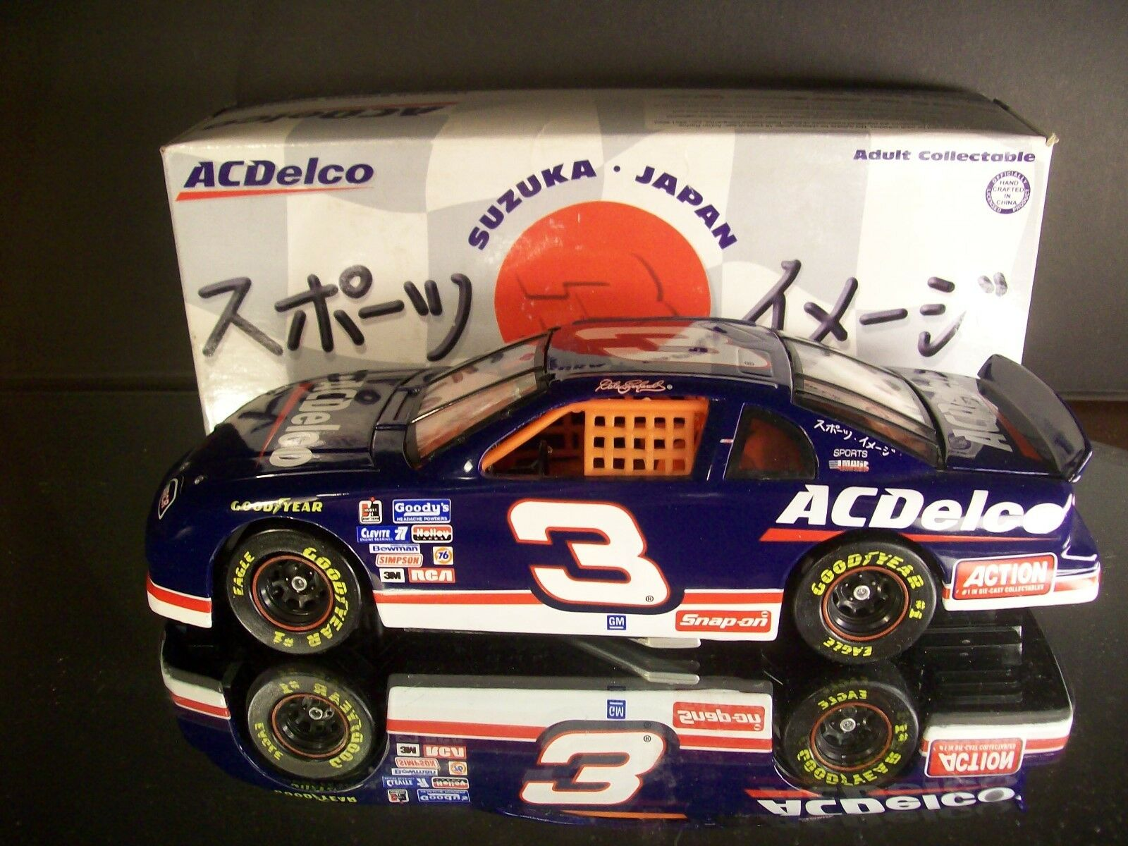 Rare Dale Earnhardt AC-Delco Japan Exhibition Race 1996 Chevrolet Monte Carlo