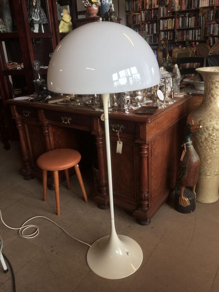 Tidlig Verner Panton Panthella standerlampe